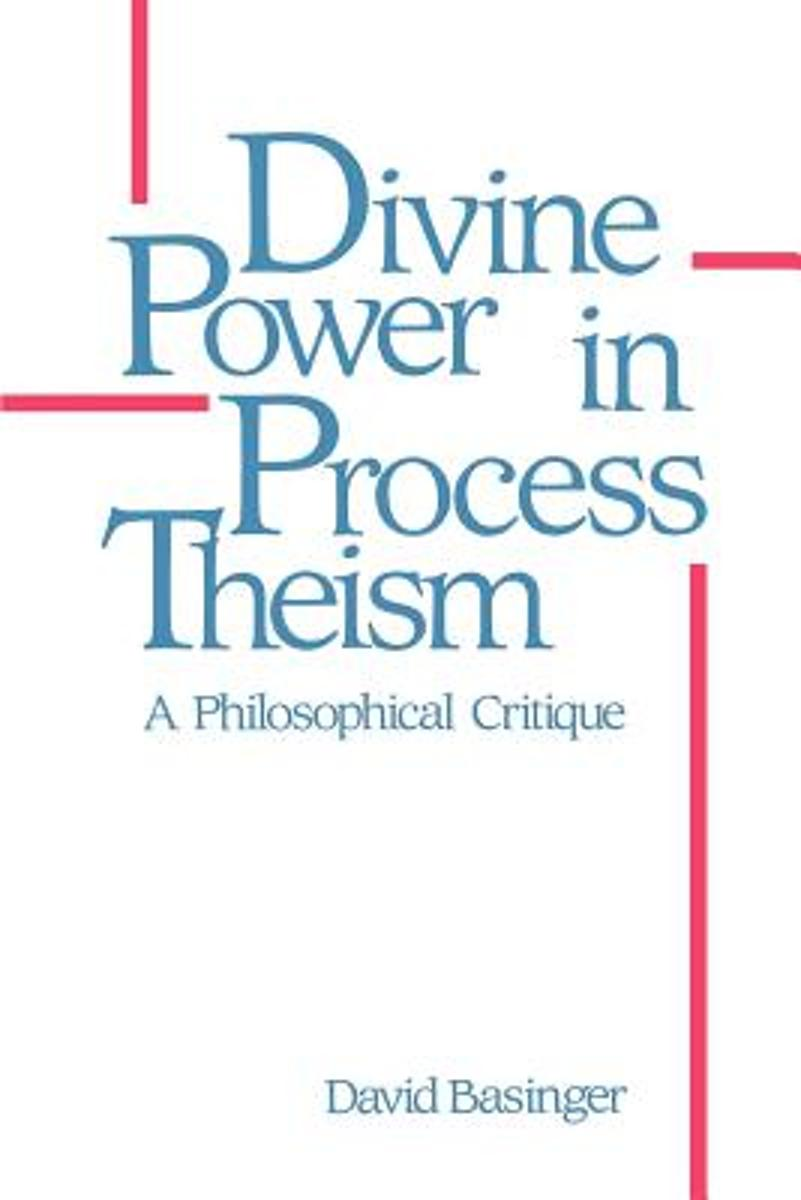 Divine Power in Process Theism