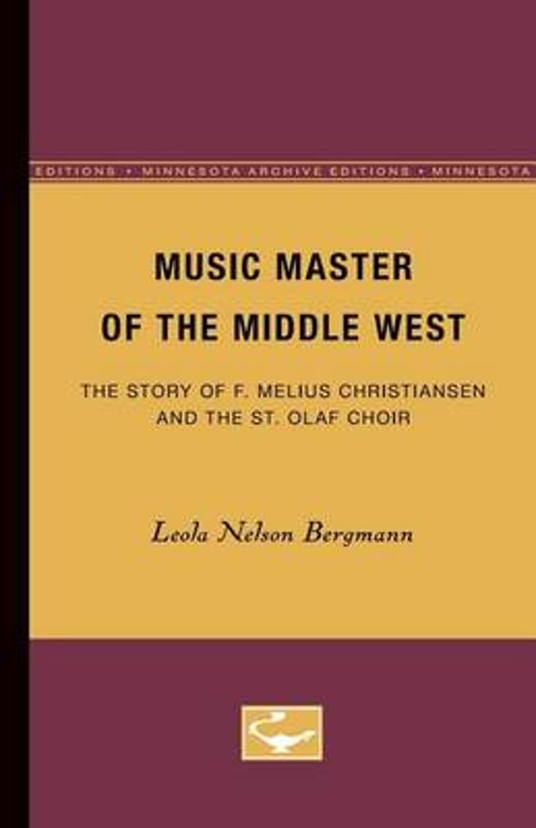 Music Master of the Middle West