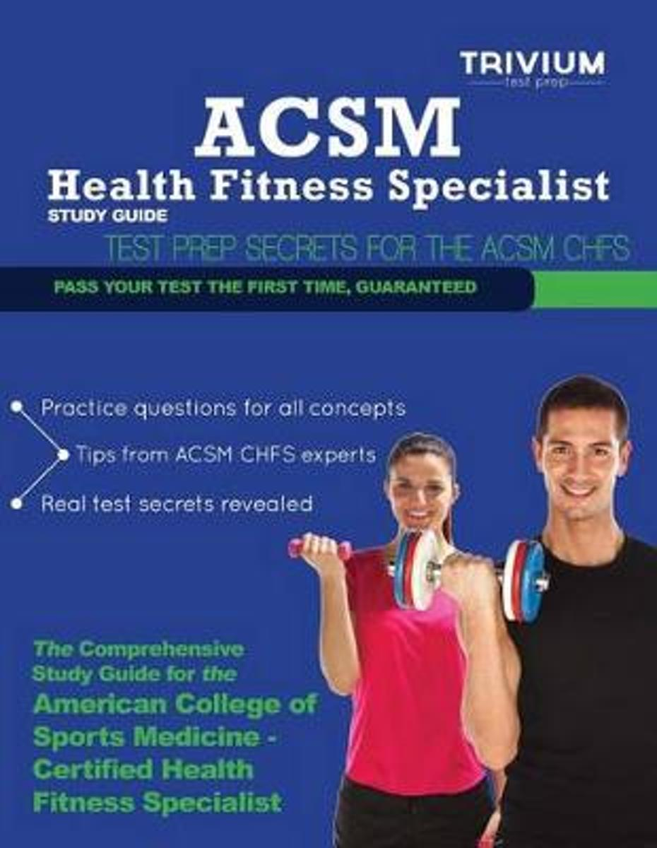 ACSM Health Fitness Specialist Study Guide