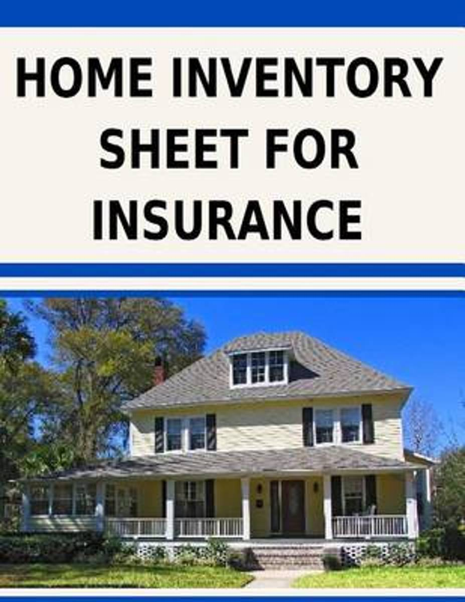 Home Inventory Sheet for Insurance