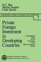 Private foreign investment dev. countries