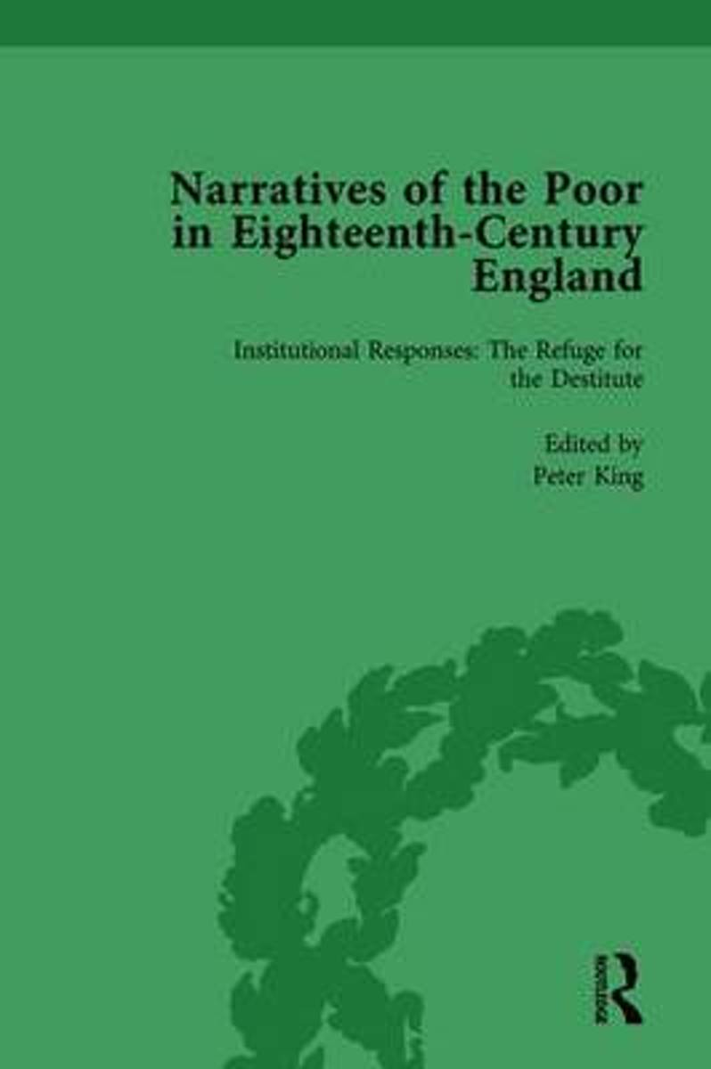 Narratives of the Poor in Eighteenth-Century England Vol 4