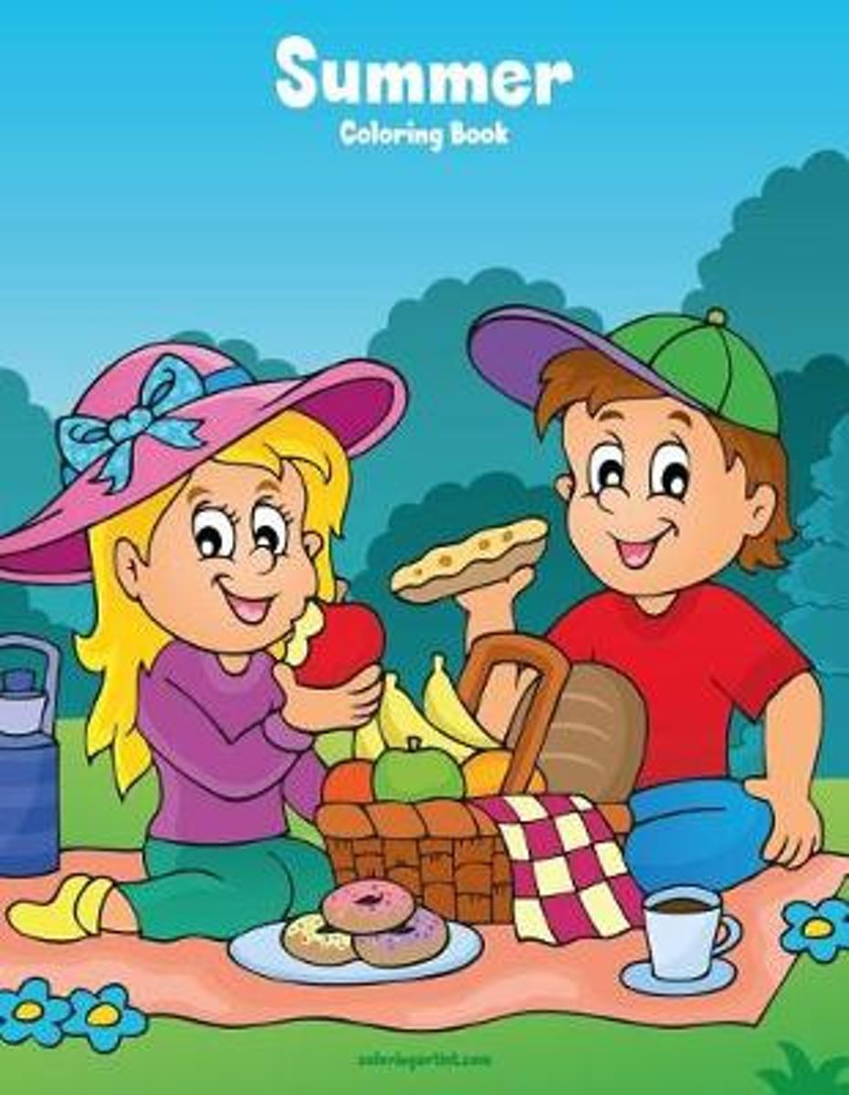 Summer Coloring Book 1