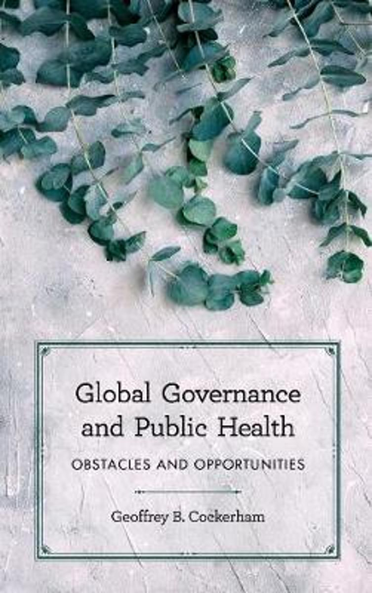 Global Governance and Public Health