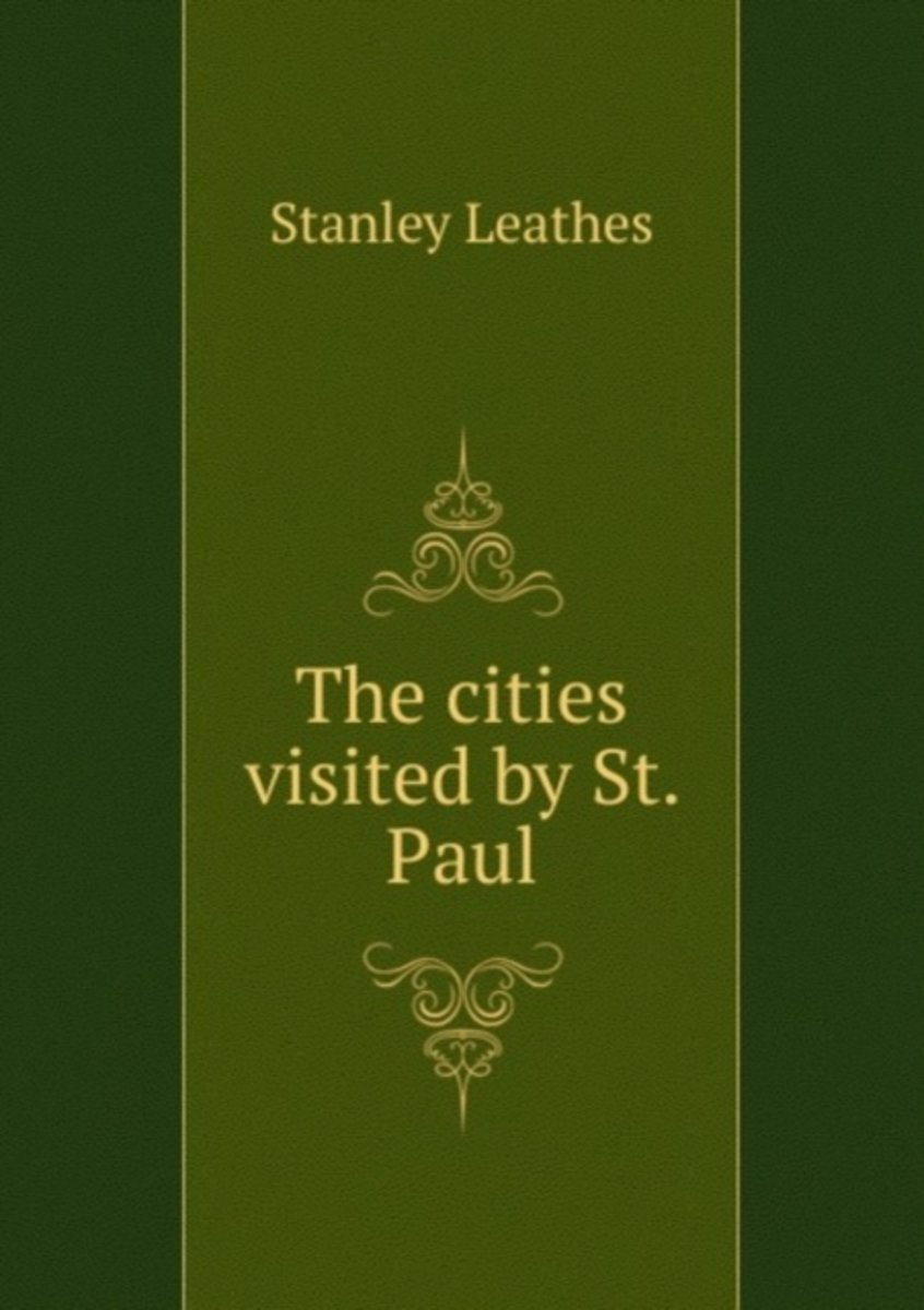 The Cities Visited by St. Paul