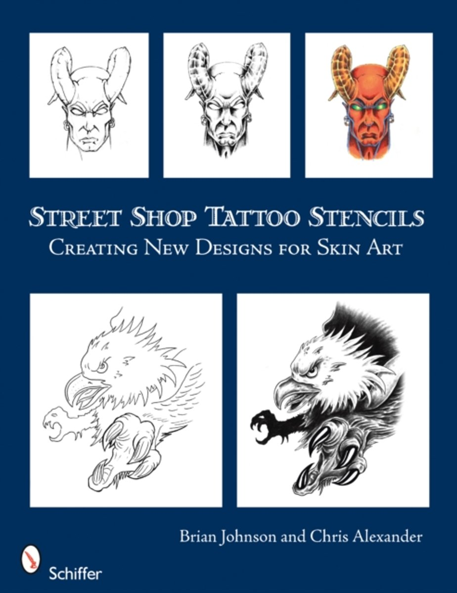 Street Shop Tattoo Stencils
