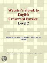 Webster's Slovak to English Crossword Puzzles