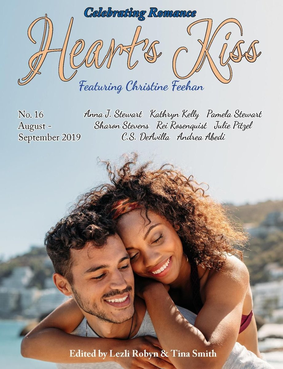 Heart's Kiss: Issue 16, August-September 2019: Featuring Christine Feehan