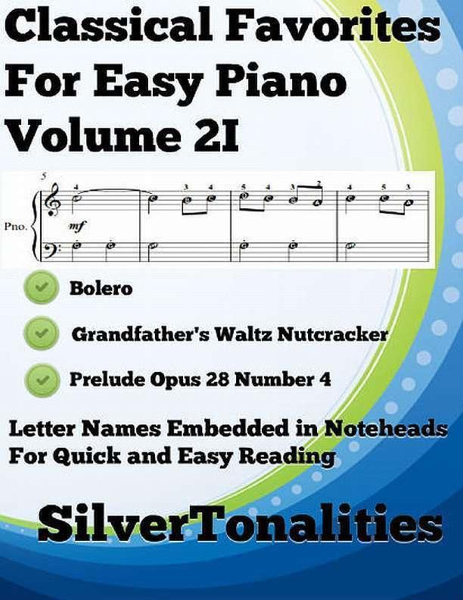 Classical Favorites for Easy Piano Volume 2 I