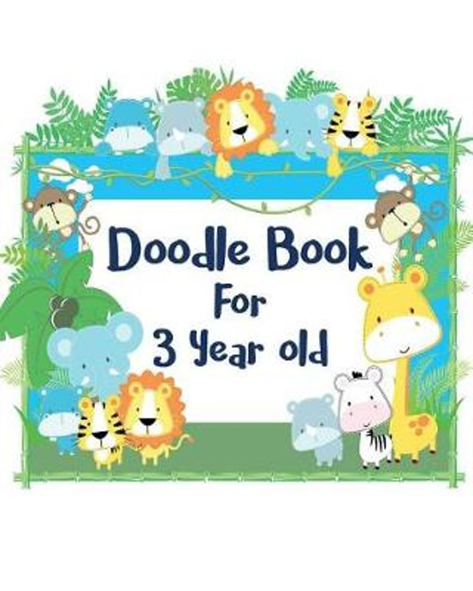 Doodle Book for 3 Year Old