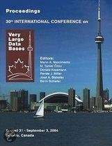 Proceedings 2004 Vldb Conference