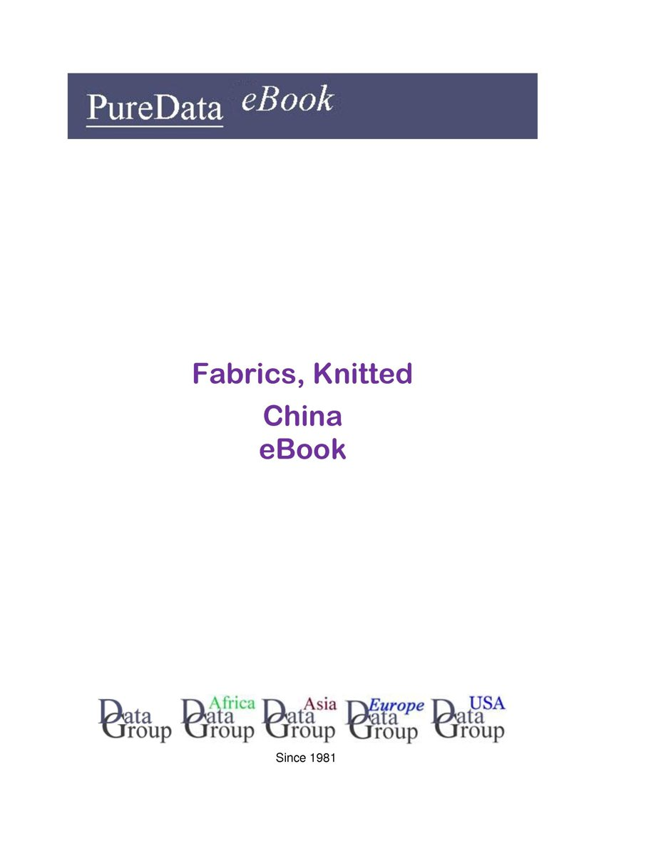 Fabrics, Knitted in China