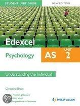 Edexcel AS Psychology Student Unit Guide New Edition: Unit 2 Understanding the Individual